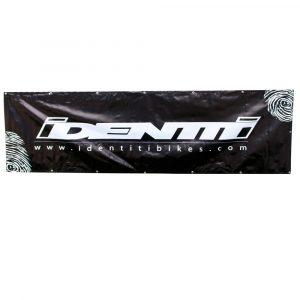 Identiti Logo Banner